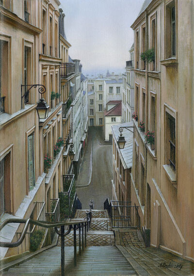 Alexei Butirskiy, 'Morning in Montmarte', 2020