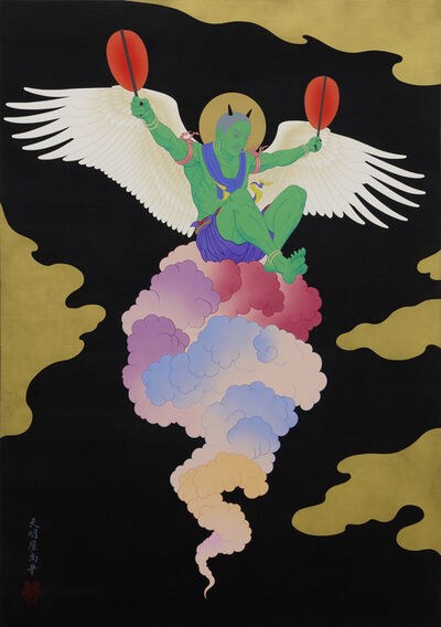 Tenmyouya Hisashi, 'Wind God', 2019