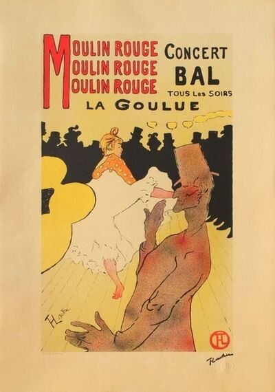 Henri de Toulouse-Lautrec, 'La Goulue au Moulin Rouge', 1995