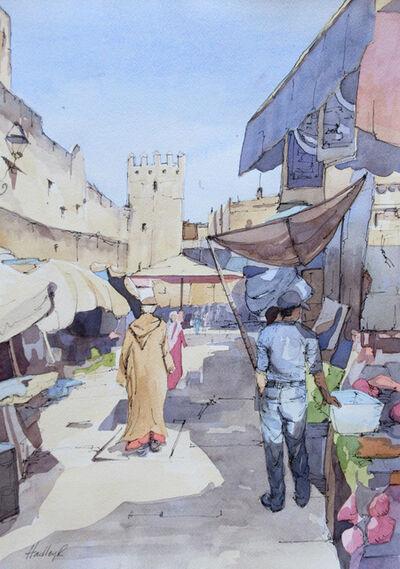 Hadley Rampton, 'Midday Souq, Fez, Morocco', 2019