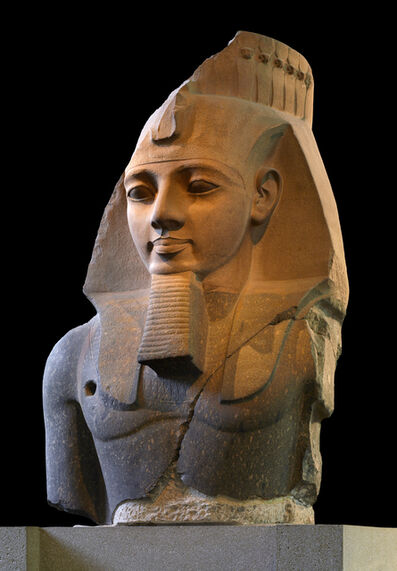 'Statue of Ramesses II, the 'Younger Memnon'', ca.  1250 B.C.
