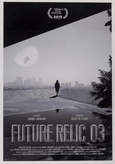 Daniel Arsham, 'Future Relic 03, movie poster', 2015
