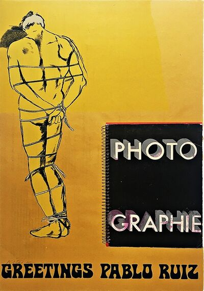 "R. B. Kitaj, 'Greetings Pablo Ruiz, from the portfolio ""Hommage à Picasso"" (Homage to Picasso) (Ramkalawon 165b)', 1973"