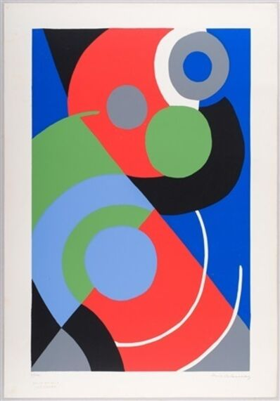 Sonia Delaunay, 'Untitled', 1957