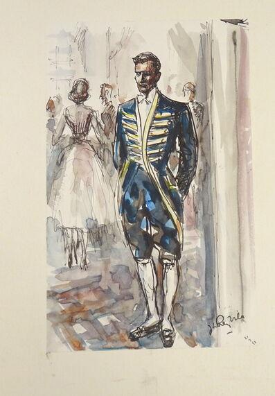 José Luis Rey Vila, 'The Butler', 1950s
