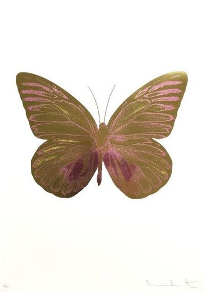 Damien Hirst, 'The Souls I - Oriental Gold - Loganberry Pink', 2010