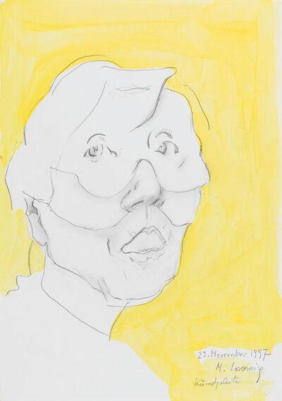 Maria Lassnig, 'Künstlerpleite', 1997