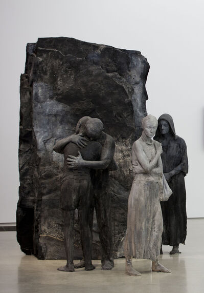 George Segal, 'Abraham's Farewell to Ishmael', 1987
