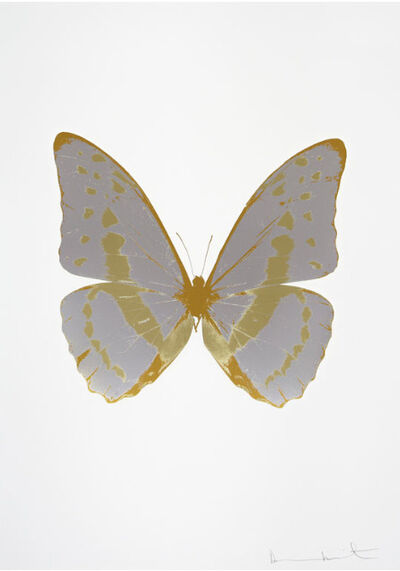 Damien Hirst, 'The Souls III - Silver Gloss - Cool Gold - Luxury Gold', 2010