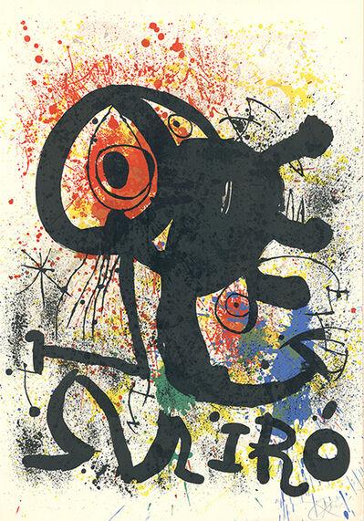 Joan Miró, 'Sculptures et céramiques (M. 917)', 1973