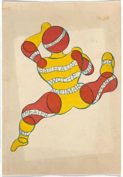 Georg Teltscher, 'Bauhaus Postcard', 1923