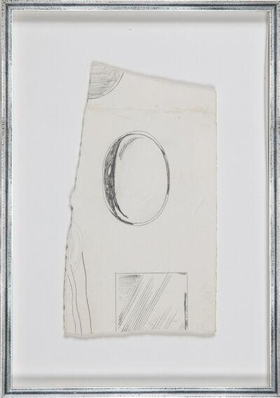 Roy Lichtenstein, 'Sketch for Mirror-series #2', 1970