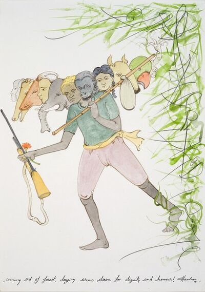 N.S. Harsha, 'Coming out of forest, laying arms down for dignity and honour!', 2012