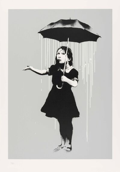 Banksy, 'NOLA (White Rain)', 2008