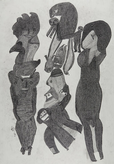 Davood Koochaki, 'Figures composition', ca. 2015
