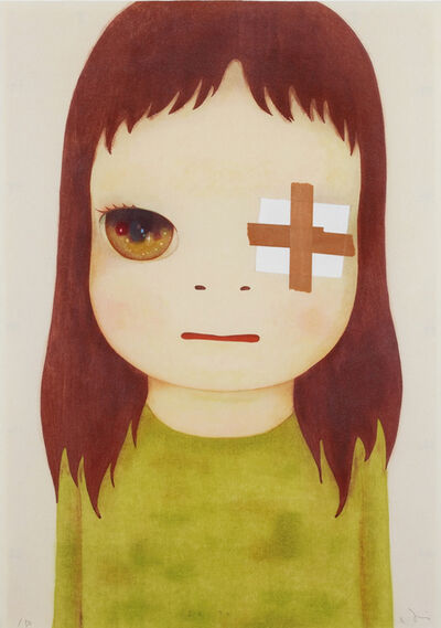 Yoshitomo Nara, 'Untitled (Eye Patch)', 2012