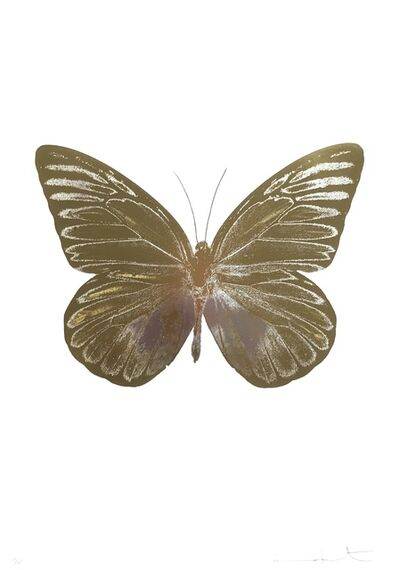 Damien Hirst, 'The Souls I, Silvergloss Oriental Gold ', 2010