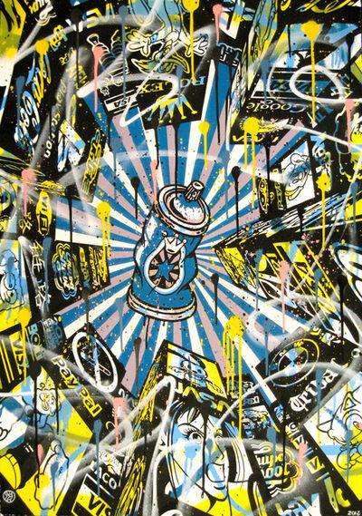 Speedy Graphito, 'Spray Can', 2012