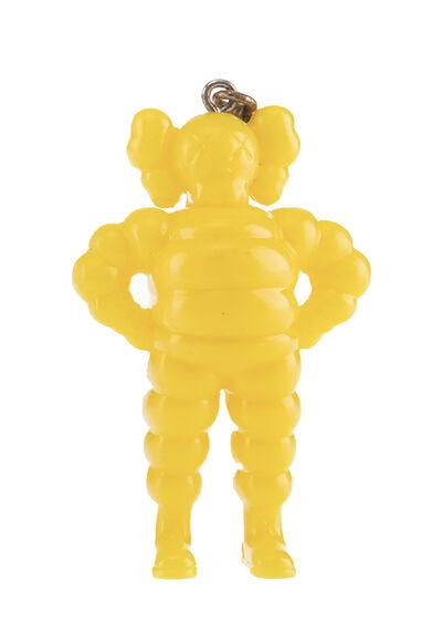 KAWS, ''Chum' (yellow) Art Figure Keychain', 2009