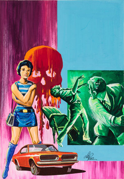 'Untitled (Woman with zombies)', c. 1960-75