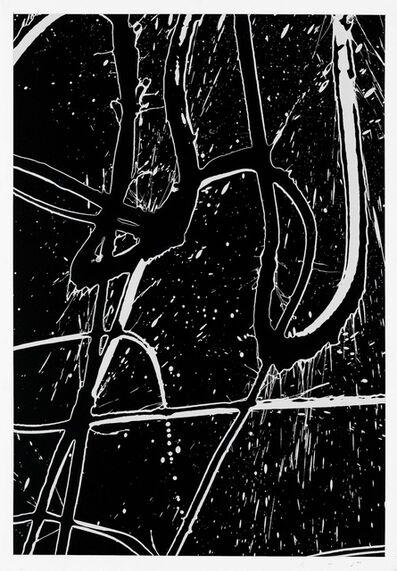 Ed Moses, 'Brack Black', 2004