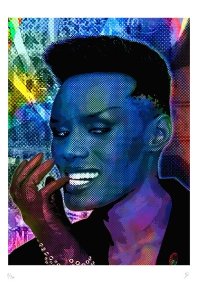 Vincent Sabatier, 'GRACE JONES', 2019