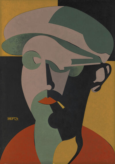 KARL HERMANN HAUPT, 'Self Portrait 3 (Selbstbildnis 3)', 1924