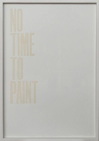 Pavel Büchler, 'Honest work (No time)', 2011