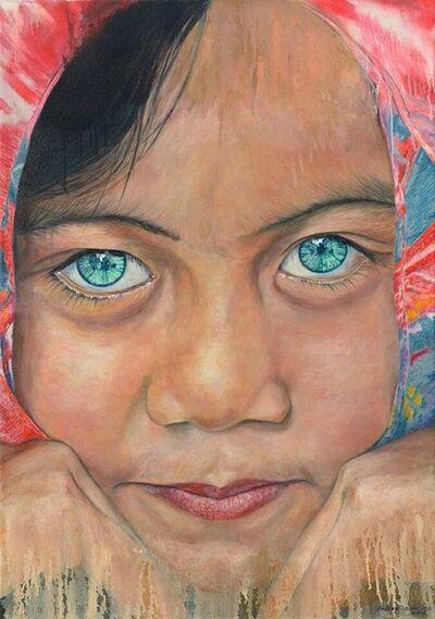 Andres Dominguez, 'Turquoise Eyes', 2017