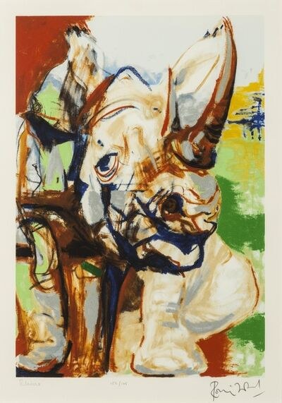 Ronnie Wood, 'Rhino', 2005