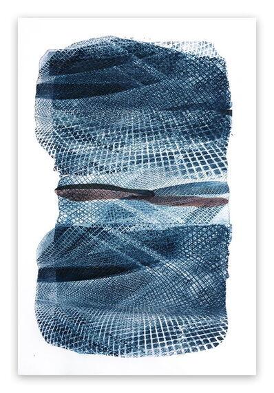 Marcy Rosenblat, 'Blue Netting', 2017