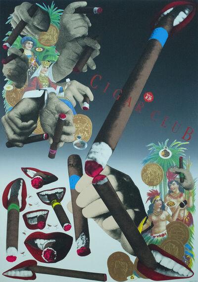 Tadanori Yokoo, 'Cigar Club', 1997
