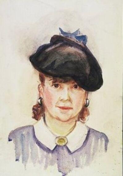 Josephine Nivison Hopper, 'Self Portrait', nd