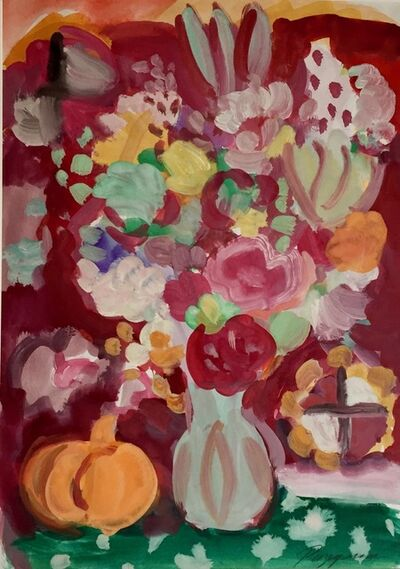Victor Razgulin, 'Flowers with Pumpkin', 2015