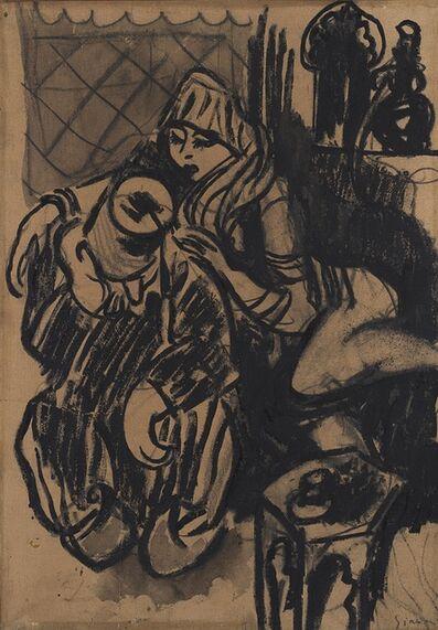 Mario Sironi, 'Bozzetto per illustrazione', 1916 ca.