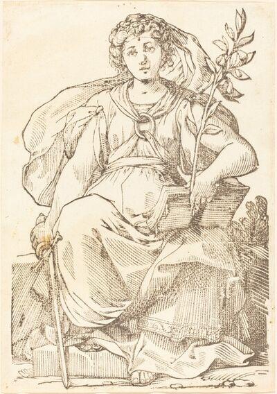 Jacques Stella, 'Sibylla Europa', 1625