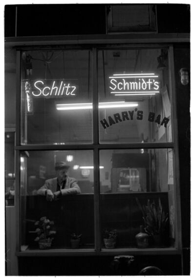 Masao Gozu, 'Harry's Bar #6, 9pm June', 1977