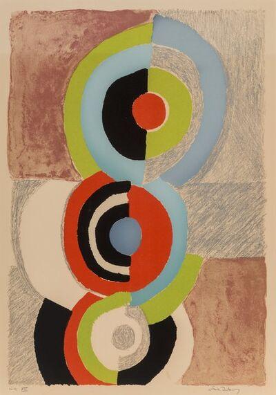 Sonia Delaunay, 'Les trois graces', 1972