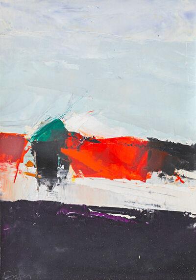 Donald Hamilton Fraser, 'Breakwater: Red and Black', 1962