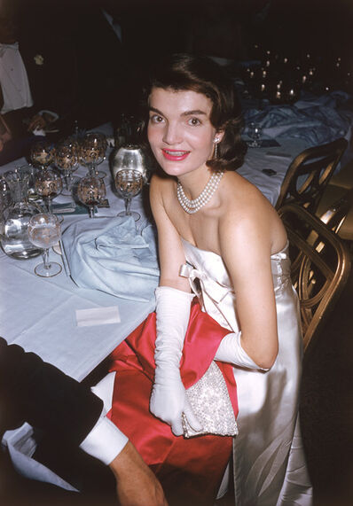 "Slim Aarons, 'Jacqueline Kennedy at the ""April in Paris"" Ball', ca. 1959"
