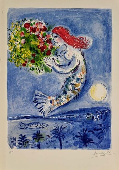 Marc Chagall, 'The Bay of Angels (M.350)', 1961