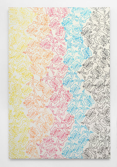 Carlos Amorales, 'Orgy of Narcissus (Repetitive Patterns 2)', 2020