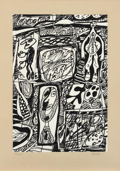Jean Dubuffet, 'Scenario Bref', 1979