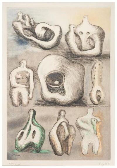 Henry Moore, 'Eight Sculpture Ideas', 1981