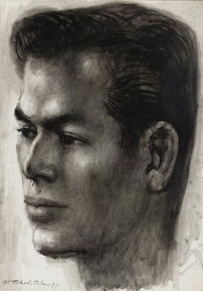 Pavel Tchelitchew, 'Portrait of Nicholas Magallanes', 1947