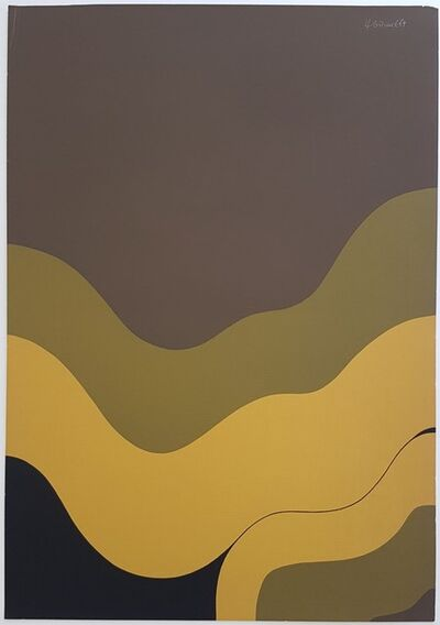 Hannes Grosse, 'Gestural Abstraction (Waves)', 1969