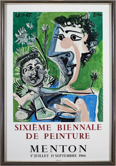 Pablo Picasso, 'Sixieme Biennale De Peinture', 1966