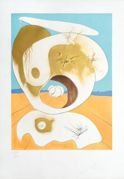 Salvador Dalí, 'Vision planétaire et scatologique. (Planetary and Scatalogical Vision.)', 1974