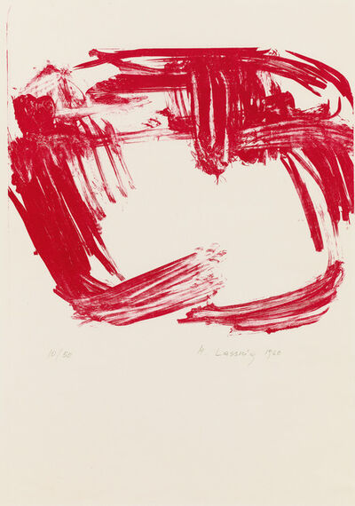 Maria Lassnig, 'untitled', 1960