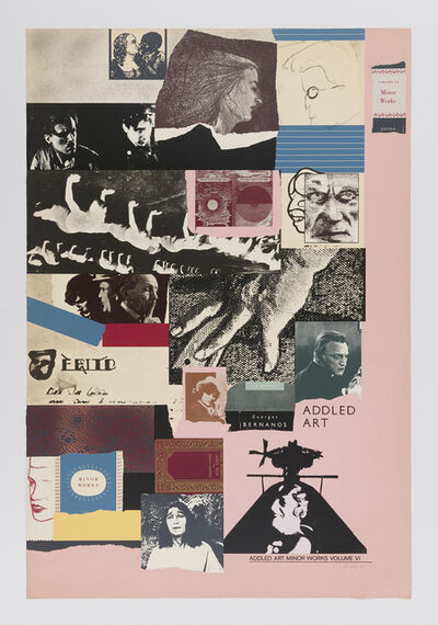 R. B. Kitaj, 'Addled Art Minor Works', 1975